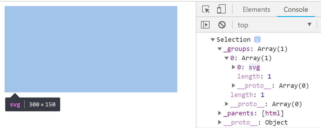 svg selection with hover