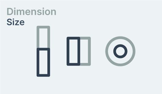 dimension - size