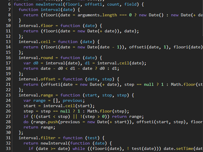 d3.timeMonth() source code