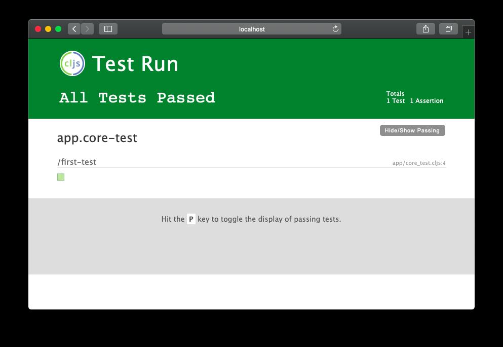 Test UI server on http://localhost:8016